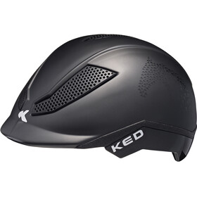 KED Pina Helmet Kids Black Matt Script